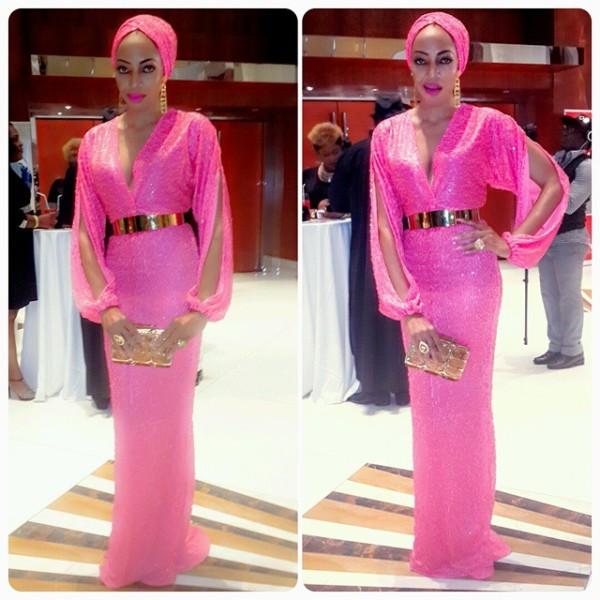 Genevieve Pink Ball 2014 - Ene Maya Lawani