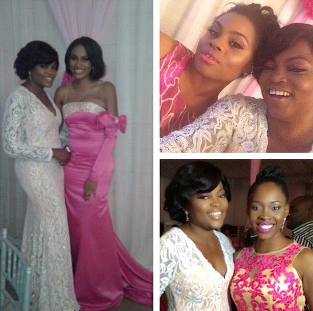 Genevieve Pink Ball 2014 - Funke Akindele1
