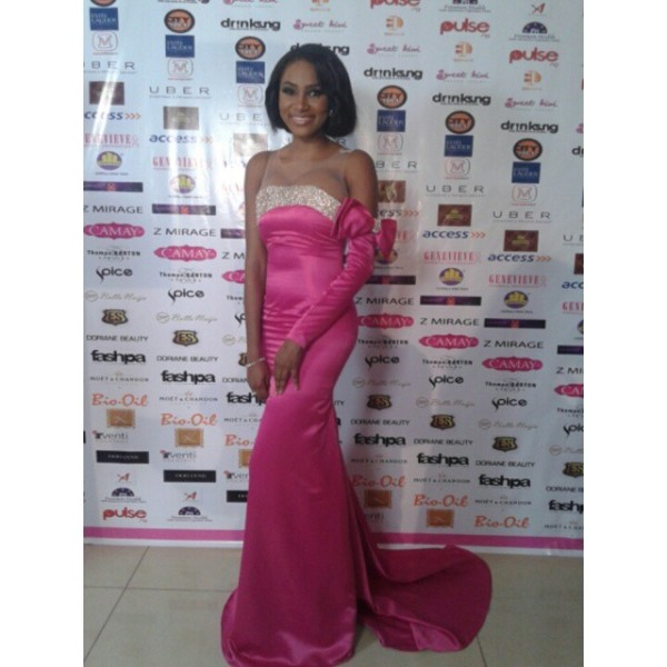 Genevieve Pink Ball 2014 - Jumai Shaba