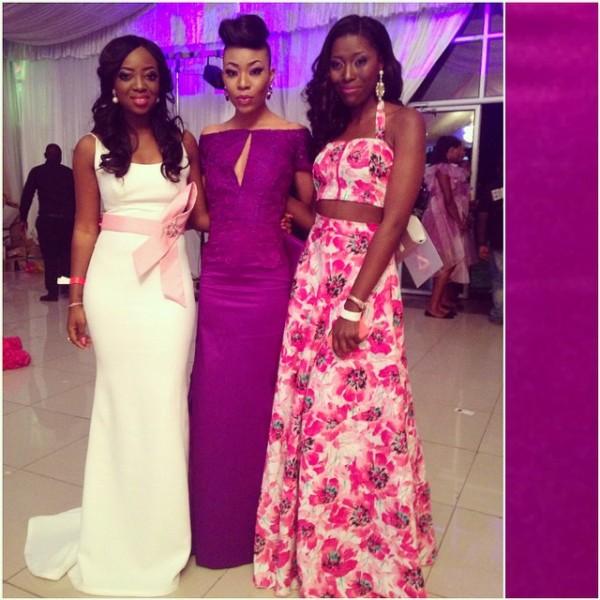 Genevieve Pink Ball 2014 - Kunbi Oyelese, Ugonna and Vimbai