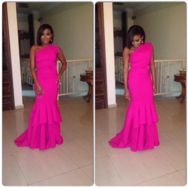 Genevieve Pink Ball 2014 - Marcy Dolapo Oni