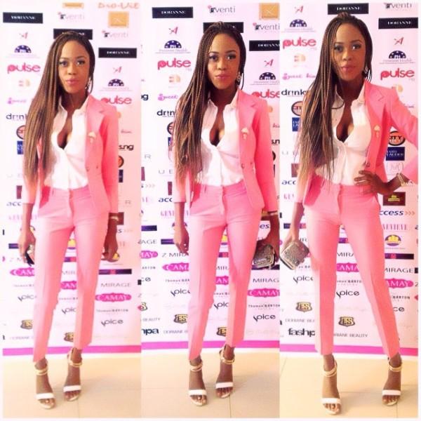 Genevieve Pink Ball 2014 - Maryam Adeyemi