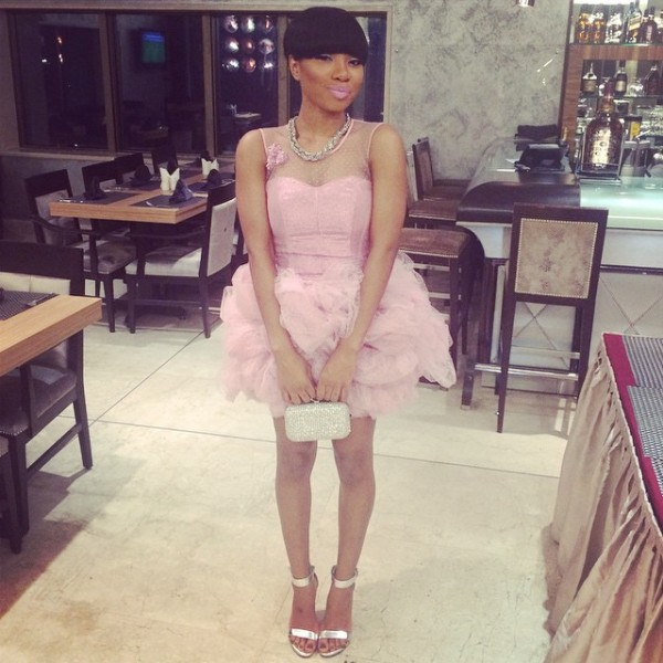 Genevieve Pink Ball 2014 - Mo Cheddah