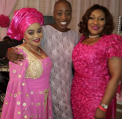 Genevieve Pink Ball 2014 - Quincy Ayodele, Eryca Freemantle