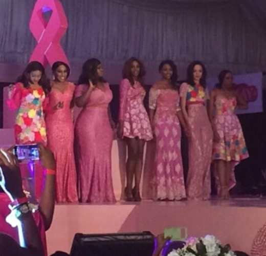 Genevieve Pink Ball 2014 - Seyi Shay, Rita Dominic, Toolz