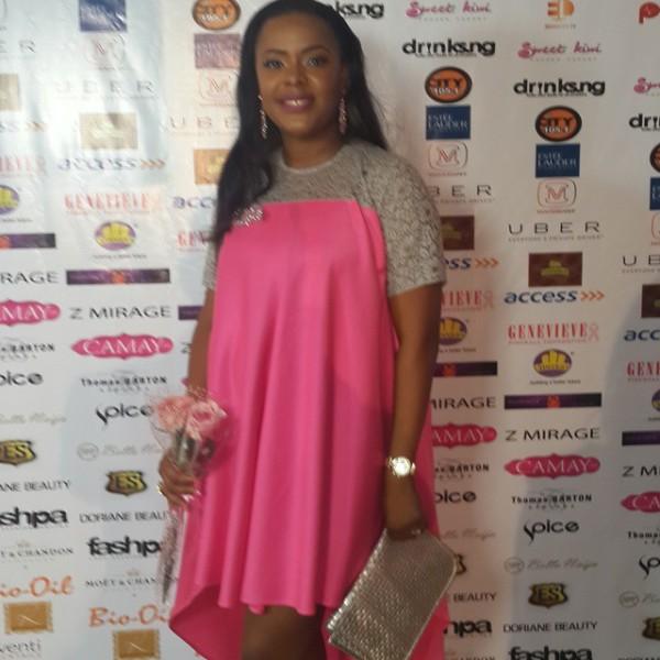 Genevieve Pink Ball 2014 - Titi Oyinsan
