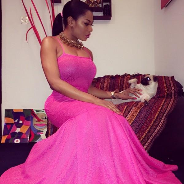 Genevieve Pink Ball 2014 - Yvonne Nwosu