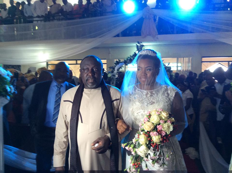 Governor Rochas Okorochas Daughter Uju weds Uzoma Anwuka Loveweddingsng12