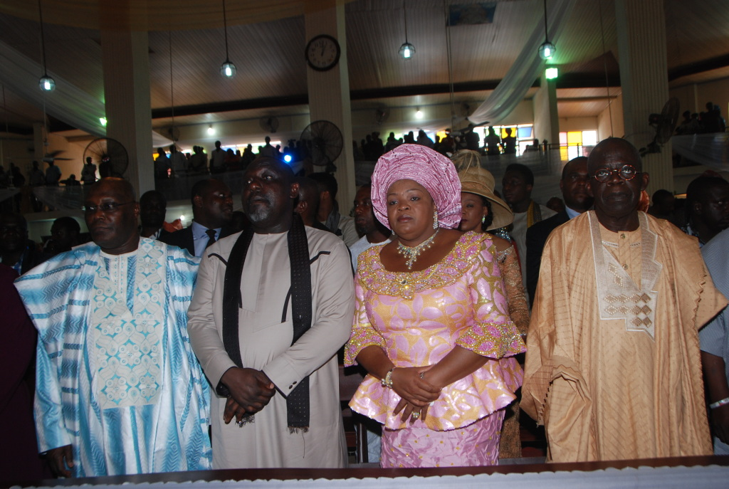 Governor Rochas Okorochas Daughter Uju weds Uzoma Anwuka Loveweddingsng14