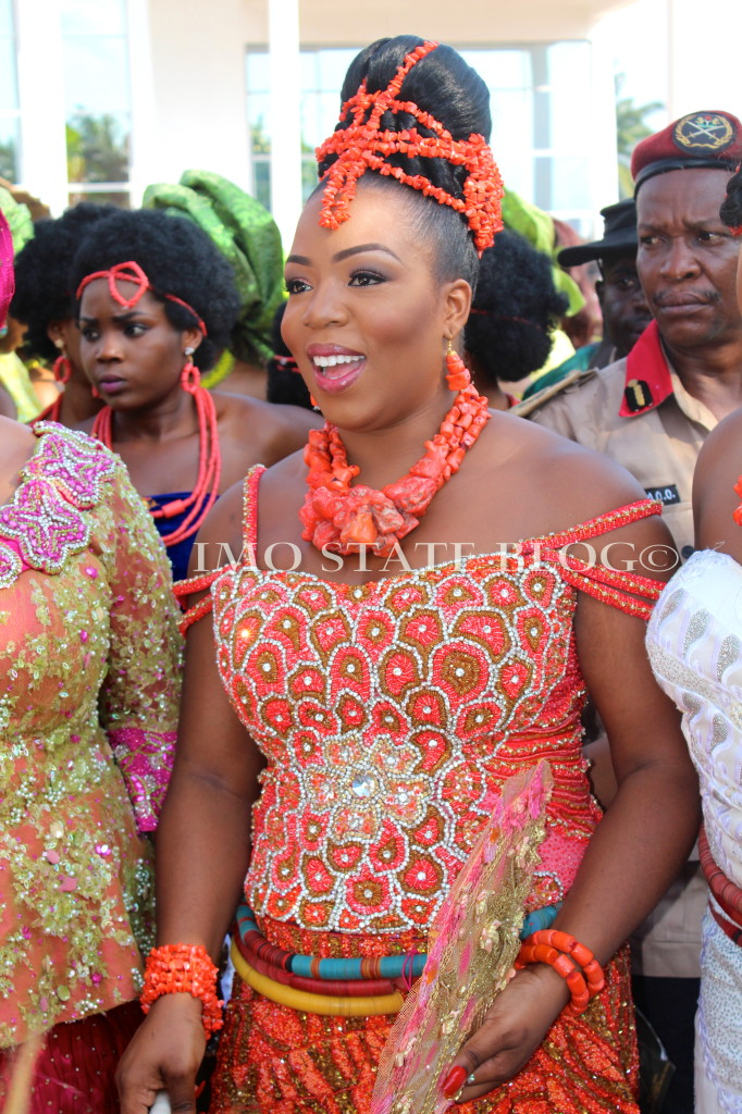 Governor Rochas Okorochas Daughter Uju weds Uzoma Anwuka Loveweddingsng6
