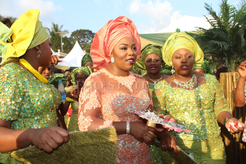 Governor Rochas Okorochas Daughter Uju weds Uzoma Anwuka Loveweddingsng7