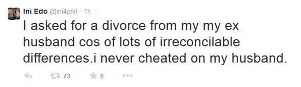 Ini Edo Divorce Loveweddingsng tweet