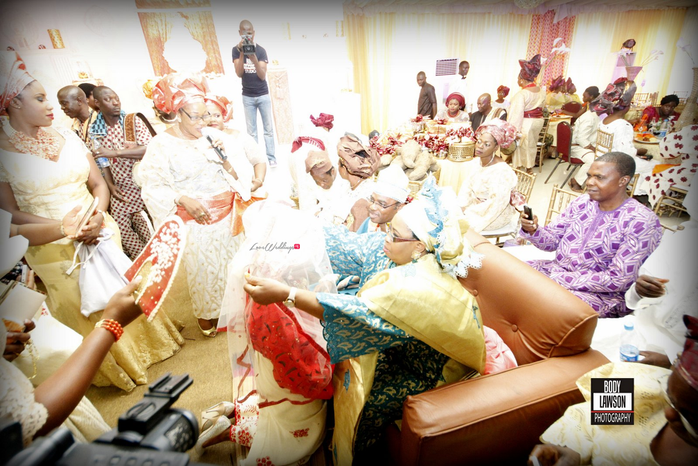 Loveweddingsng Nigerian Traditional Wedding - Motilayo and Banji128