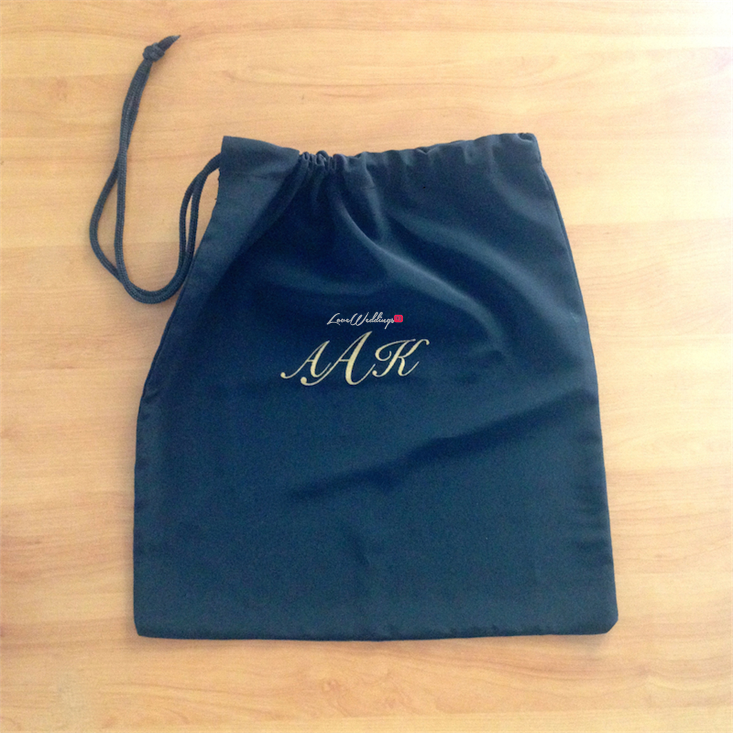 Personalised Shoe Bag by The Artisan's Gift Company