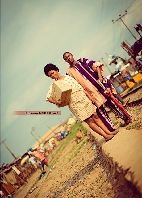 Loveweddingsng Tribal Prewedding shoot Lutosin Gbela