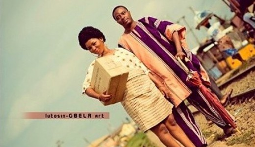 Loveweddingsng Tribal Prewedding shoot Lutosin Gbela