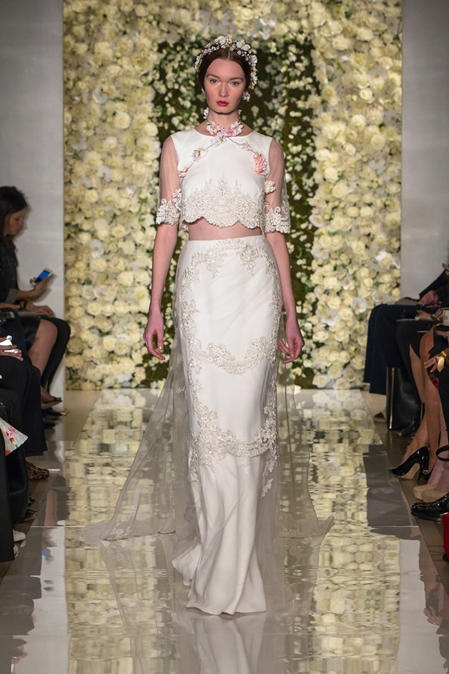 Reem Acra Bridal Fall 2015 Collection Loveweddingsng1
