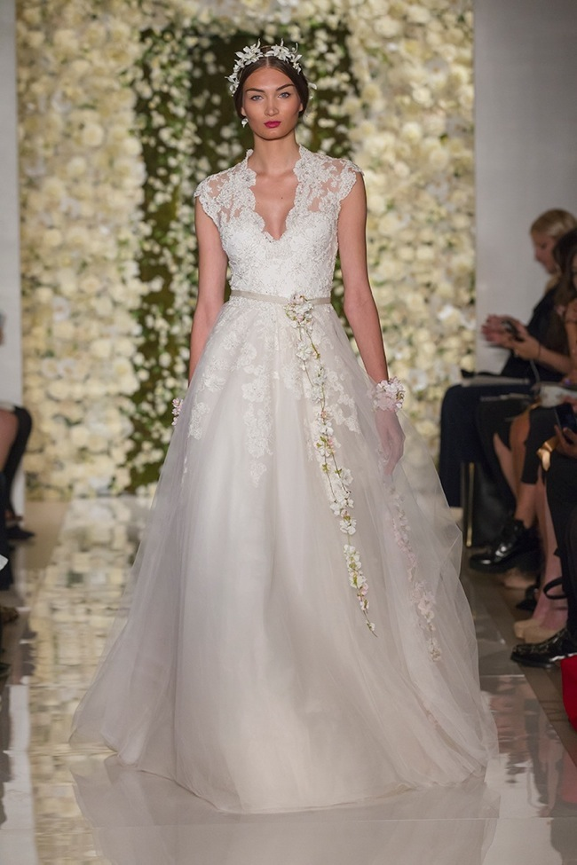 Reem Acra Bridal Fall 2015 Collection Loveweddingsng10