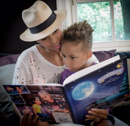 Alicia Keys Book The Adventures of Mama Mea and lele