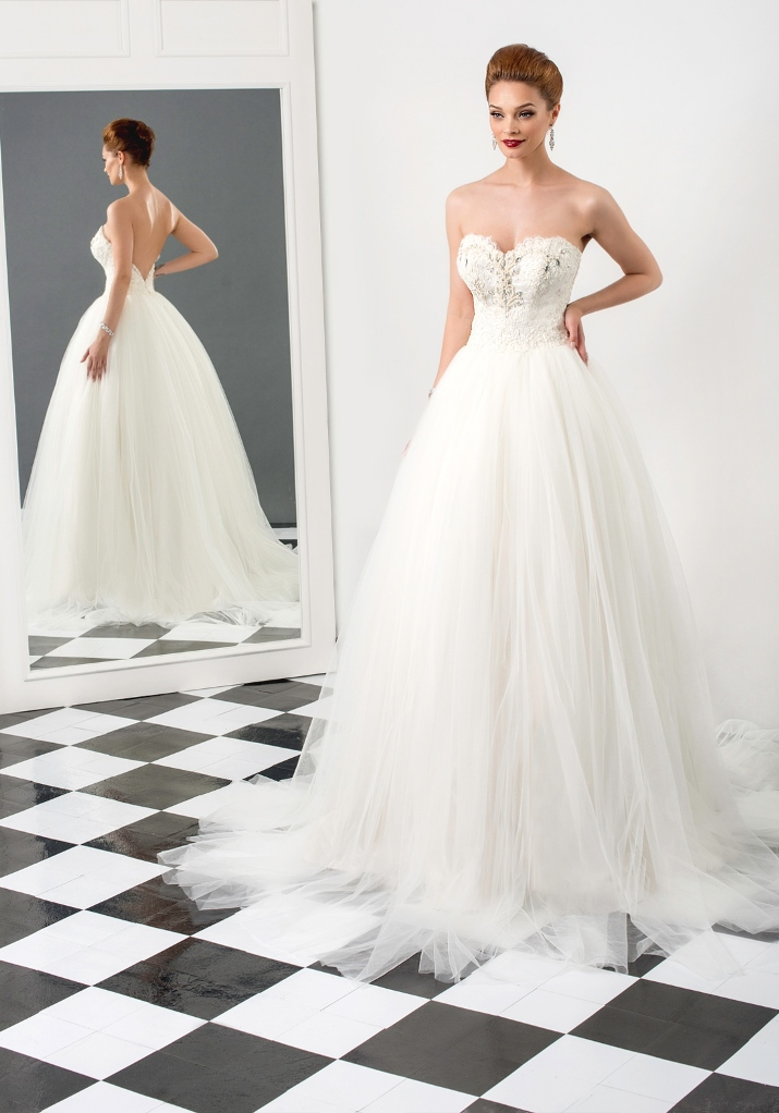 Bien Savvy 2015 Bridal Collection - Love Me Forever SHARON Loveweddingsng