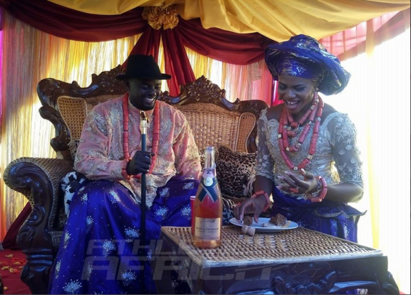 Blessing Okagbare weds Igho Otegheri Loveweddingsng