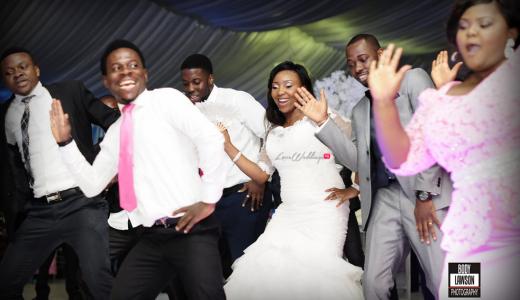 Loveweddingsng Motilayo and Banji White Wedding feat