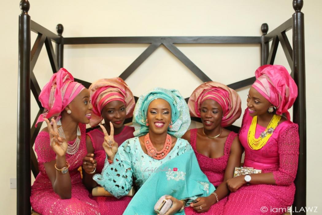Loveweddingsng Nigerian Traditional Wedding Labake and Dafe IAmBlawz11