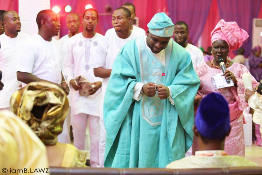Loveweddingsng Nigerian Traditional Wedding Labake and Dafe IAmBlawz22