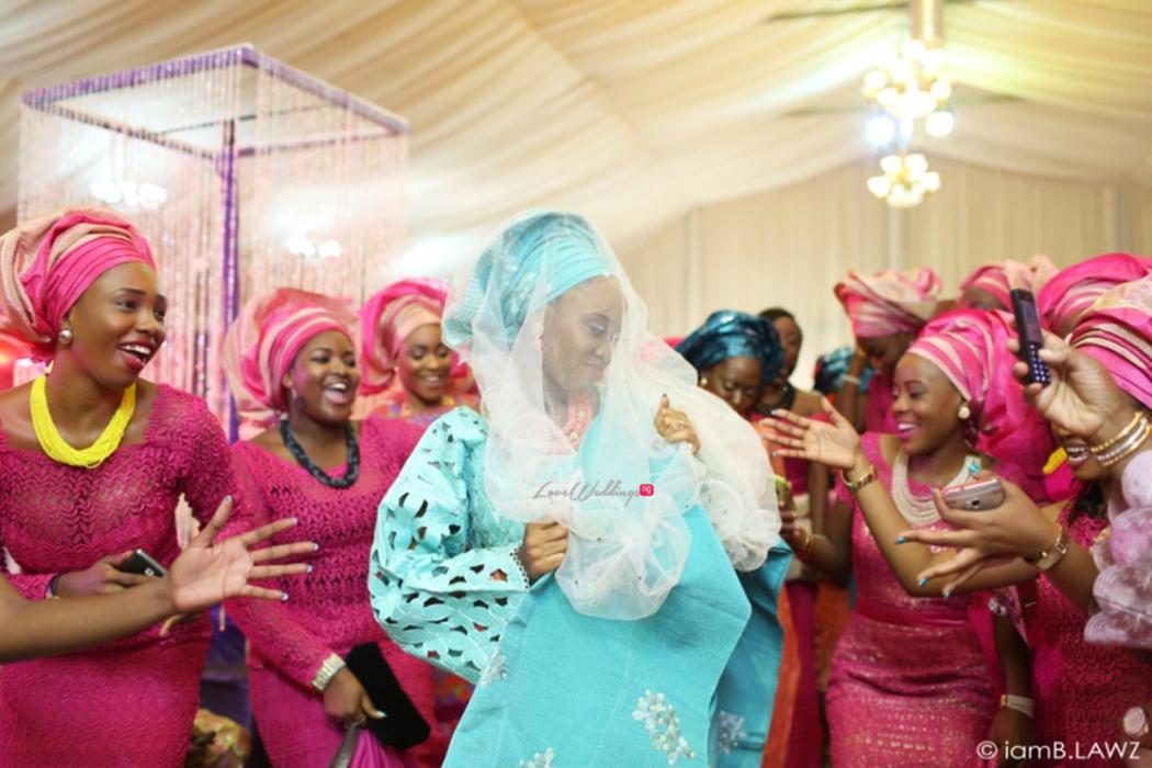 Loveweddingsng Nigerian Traditional Wedding Labake and Dafe IAmBlawz24