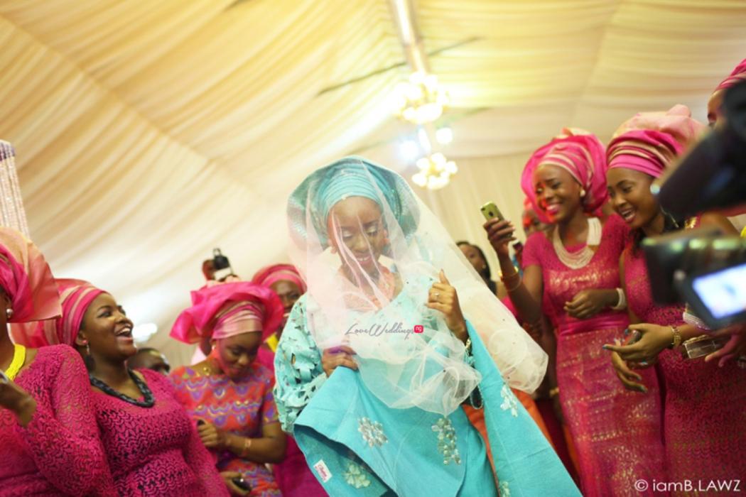 Loveweddingsng Nigerian Traditional Wedding Labake and Dafe IAmBlawz25