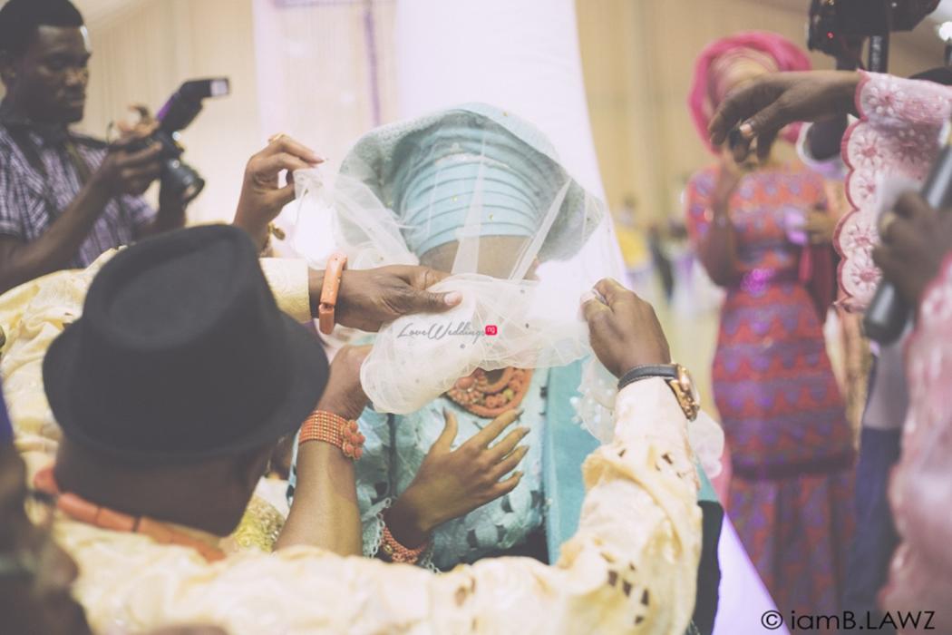 Loveweddingsng Nigerian Traditional Wedding Labake and Dafe IAmBlawz28