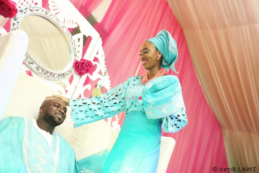 Loveweddingsng Nigerian Traditional Wedding Labake and Dafe IAmBlawz30