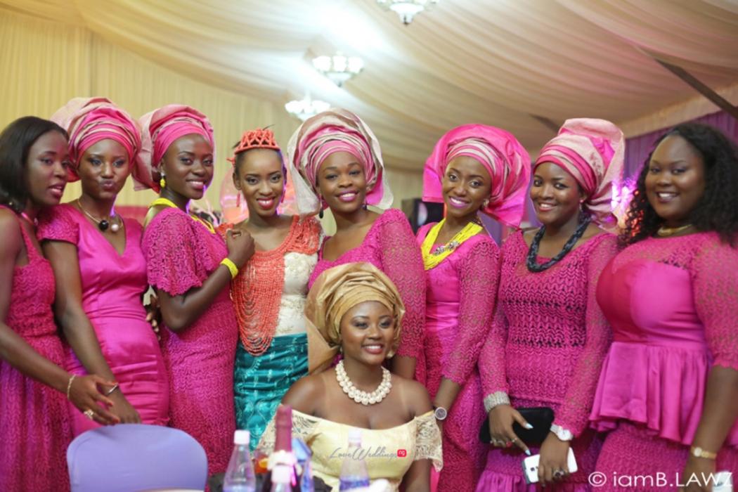 Loveweddingsng Nigerian Traditional Wedding Labake and Dafe IAmBlawz42
