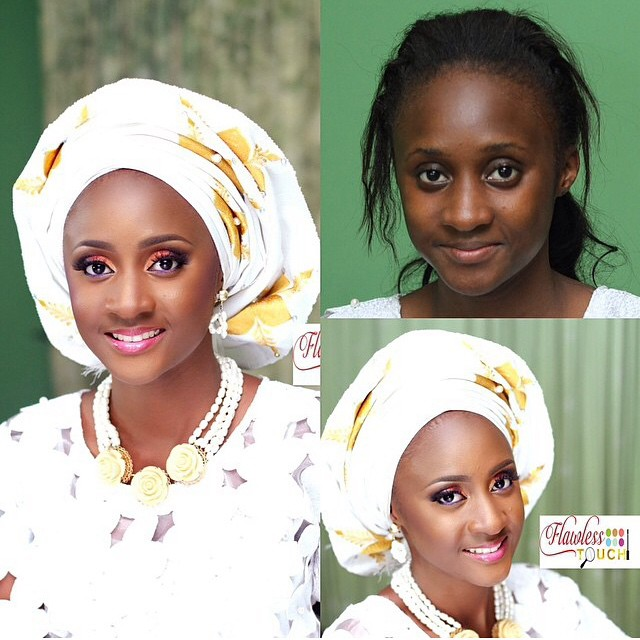 Loveweddingsng Traditional Bridal Look - Flawless Touch Makeovers