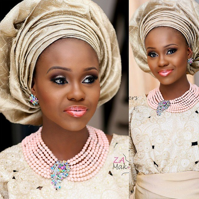 Loveweddingsng Traditional Bridal Looks We Love - Zainab Azeez