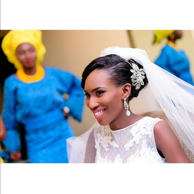 Loveweddingsng White Wedding Bridal Looks -