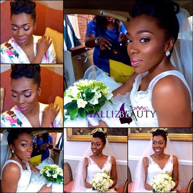 Loveweddingsng White Wedding Bridal Looks - Yalliz Beauty