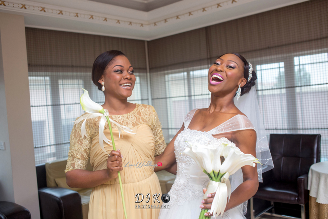 Loveweddingsng White Wedding Idowu and Owen Diko Photography