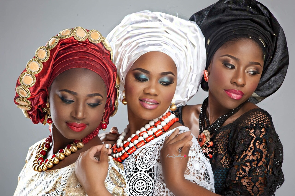 Nigerian Traditional Bride Loveweddingsng - Makeup by Labelle1