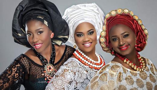 Nigerian Traditional Bride Loveweddingsng - Makeup by Labelle2