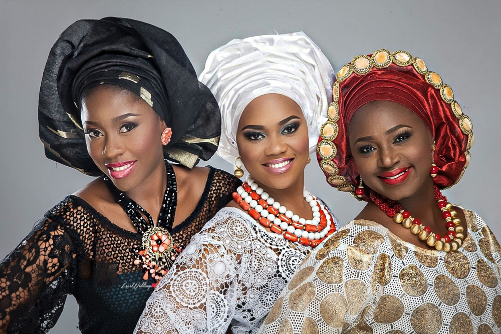 Nigerian Traditional Bride Loveweddingsng - Makeup by Labelle2