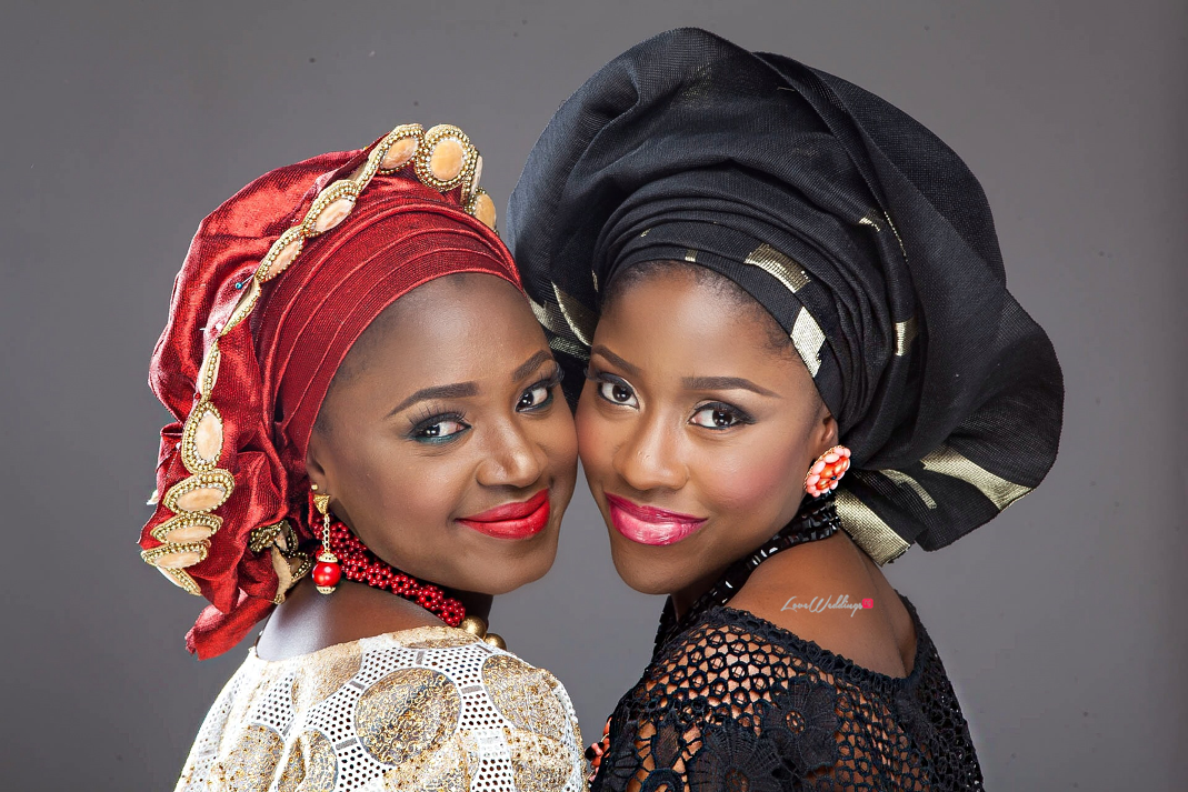 Nigerian Traditional Bride Loveweddingsng - Makeup by Labelle3
