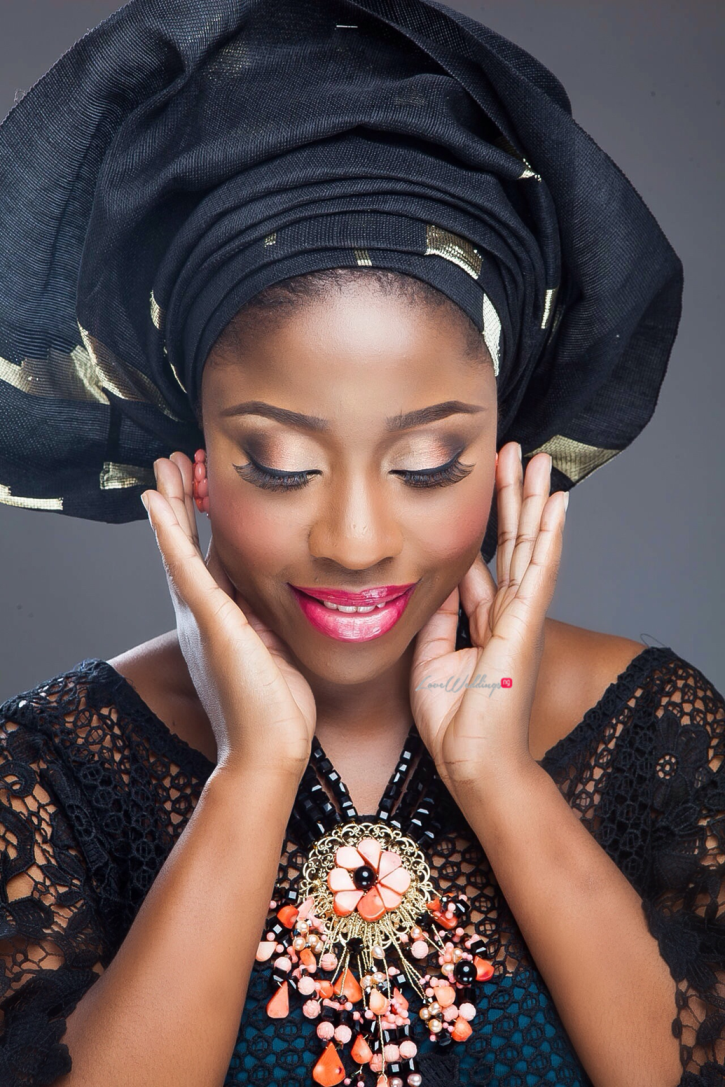 Nigerian Traditional Bride Loveweddingsng - Makeup by Labelle4