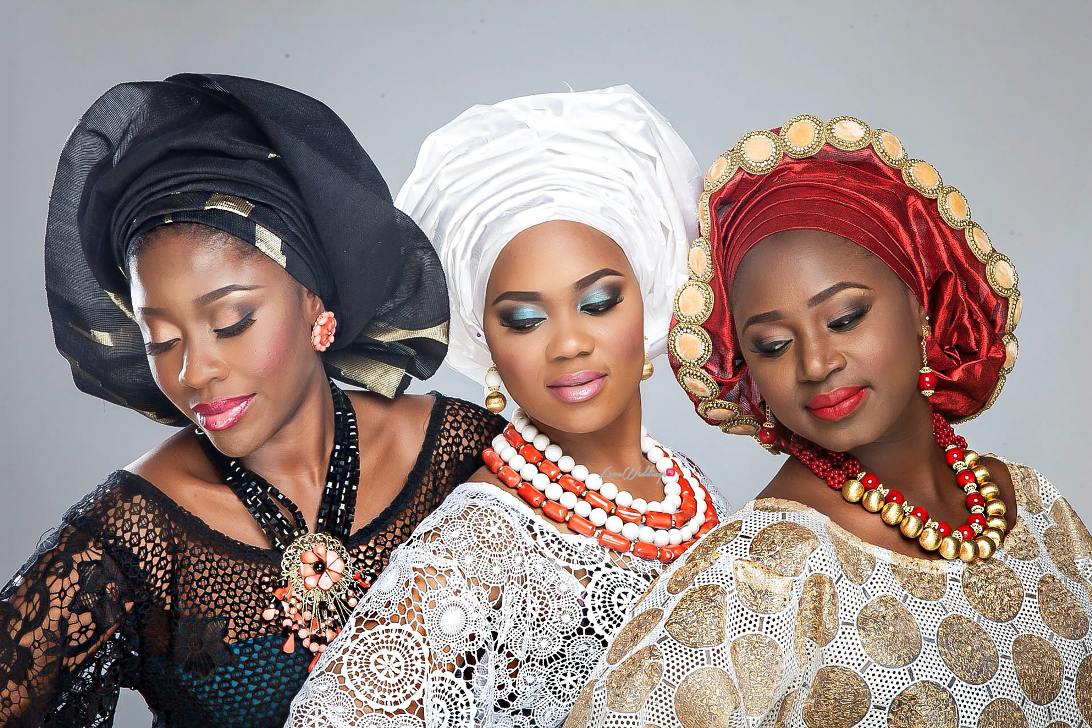 Nigerian Traditional Bride Loveweddingsng - Makeup by Labelle6