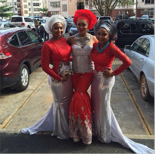 OC Ukeje Weds Ibukun Loveweddingsng - Lillian Esoro, Ovire Peggy & Linda Ejiofor