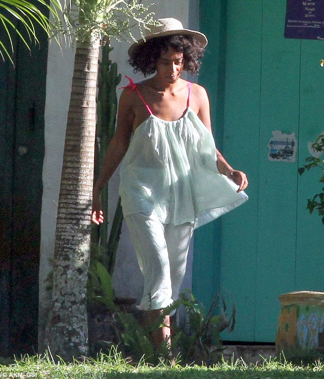 Solange Knowles Alan Ferguson Honeymoon Loveweddingsng16