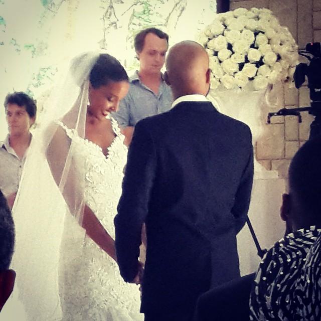 Tansey Coetzee weds Kolapo Sodeinde Loveweddingsng4