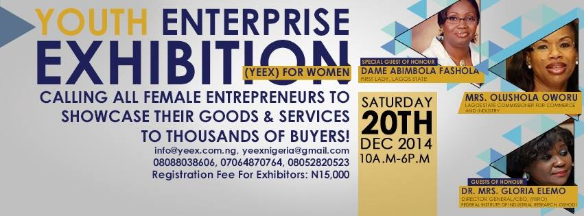 Youth Enterprise Exhibition YEEx Loveweddingsng