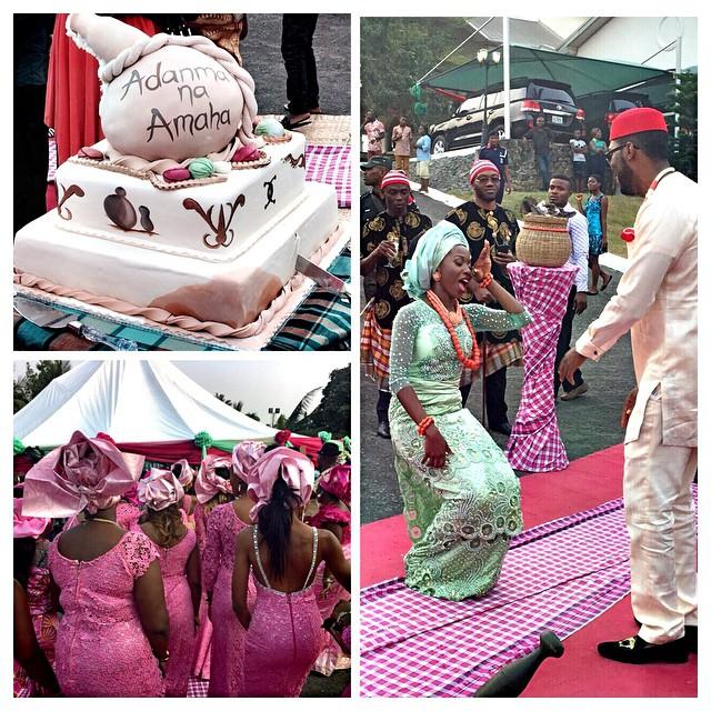 Adanma Ohakim weds Amaha Loveweddingsng10