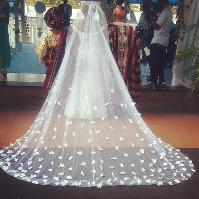 Cathedral Wedding Veils LoveweddingsNG